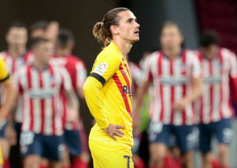 Antoine Griezmann disappointed once again