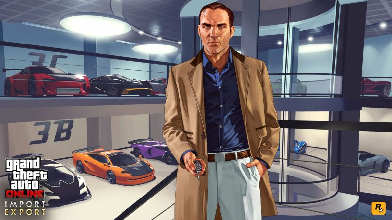 Very rarely have Rockstar Games ever put a foot wrong when it comes to the GTA franchise (Image Credits: Wallpaper Access)