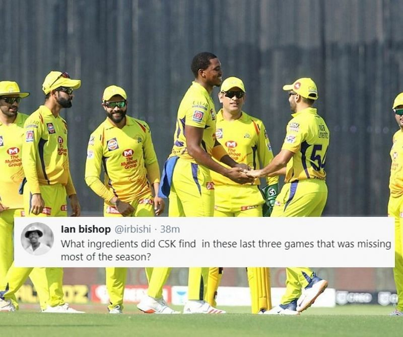CSK won their 3rd match on the trot to knock KXIP out of IPL 2020