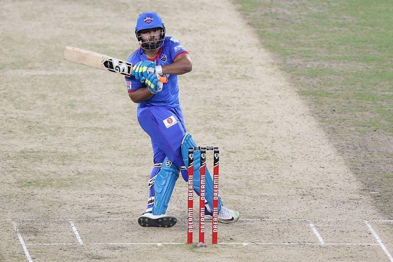 Rishabh Pant was dismissed off the last ball of the 15th over [P/C: iplt20.com]