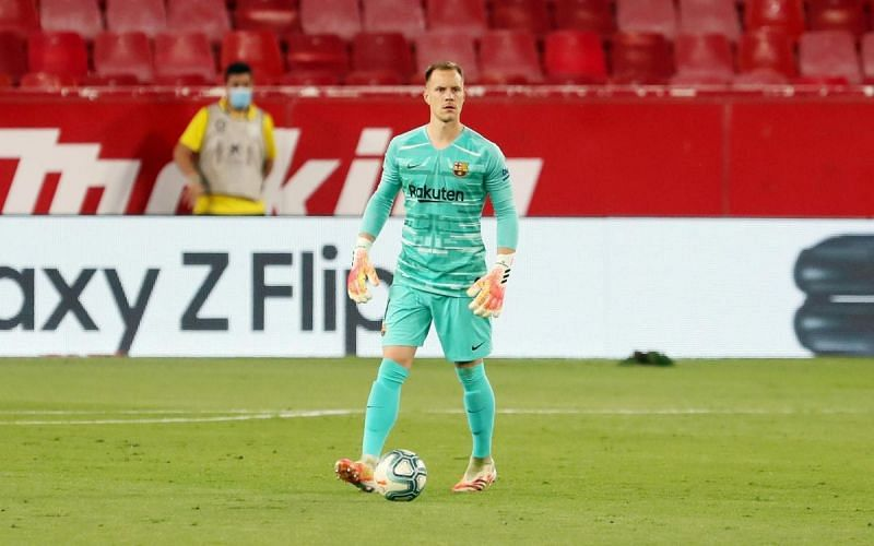 Ter Stegen tired to do a Neuer, and paid the price!