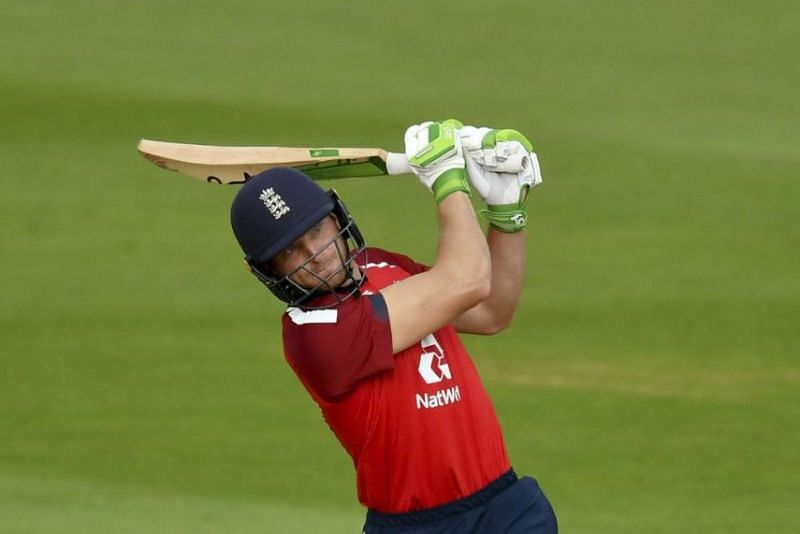 Jos Buttler impressed at the top of the order against Australia.
