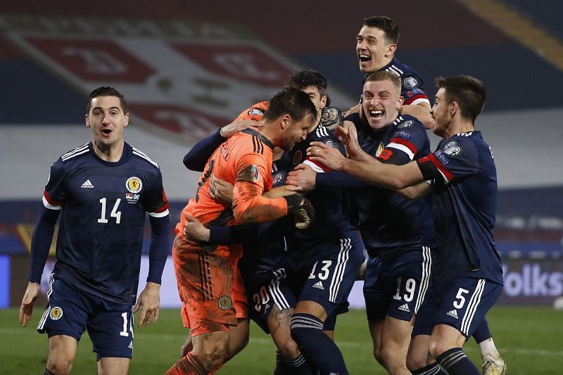 Scotland qualified for UEFA EURO 2020 with a win against Serbia