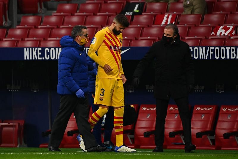 Barcelona lost 1-0 to Atletico Madrid in La Liga