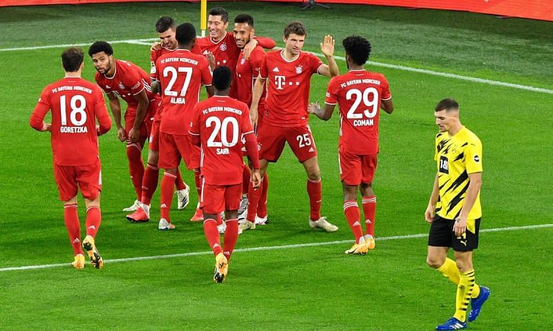 Bayern Munich beat Borussia Dortmund for the fourth time on the trot in all competitions.