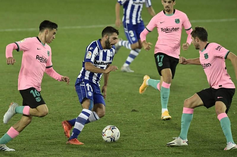 Antoine Griezmann scored his first goal of the season as Barcelona were held again.
