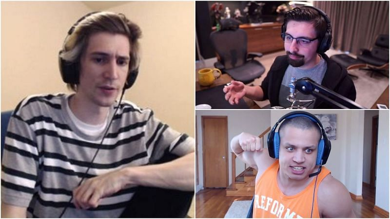 Shroud and Tyler1 took offense to xQc