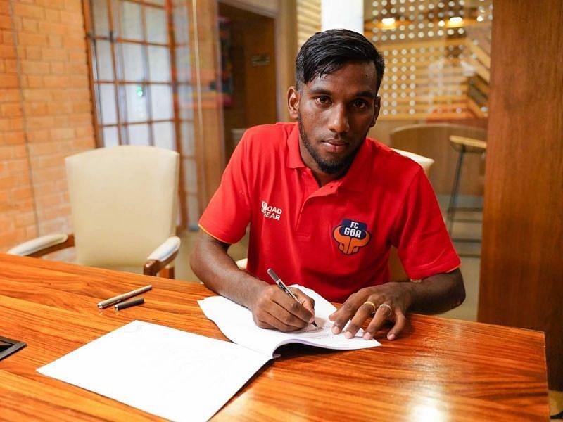 Alexander Jesuraj signing for FC Goa