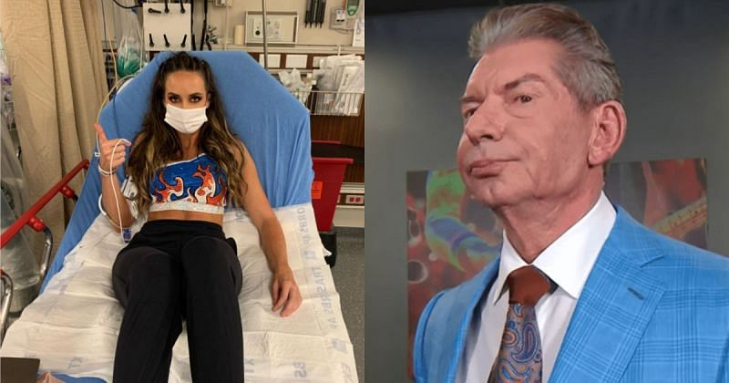 Chelsea Green and Vince McMahon.