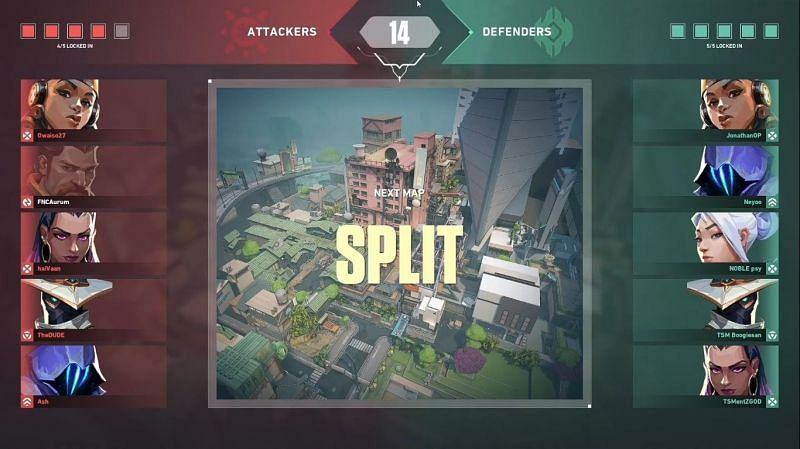 The final map was on Split (Image via - GoodGame1 YouTube)