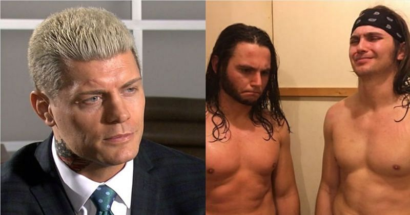 Cody and The Young Bucks.