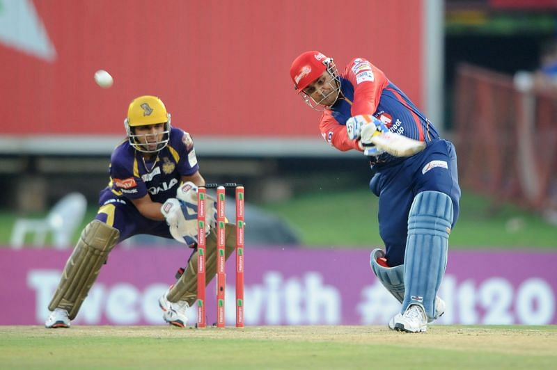 Manvinder Bisla kept wickets for KKR