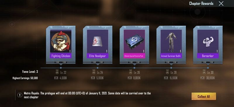 Metro Royale mode weapon crates