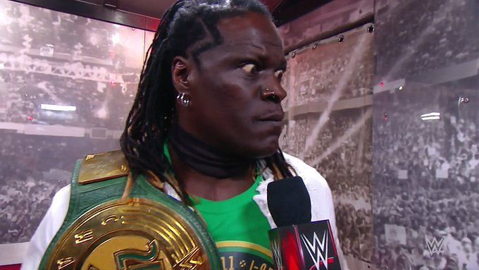 R-Truth is now a 44-time WWE 24/7 Champion after a bunch of title changes tonight on RAW