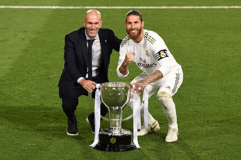 Sergio Ramos is set to stay at Real Madrid