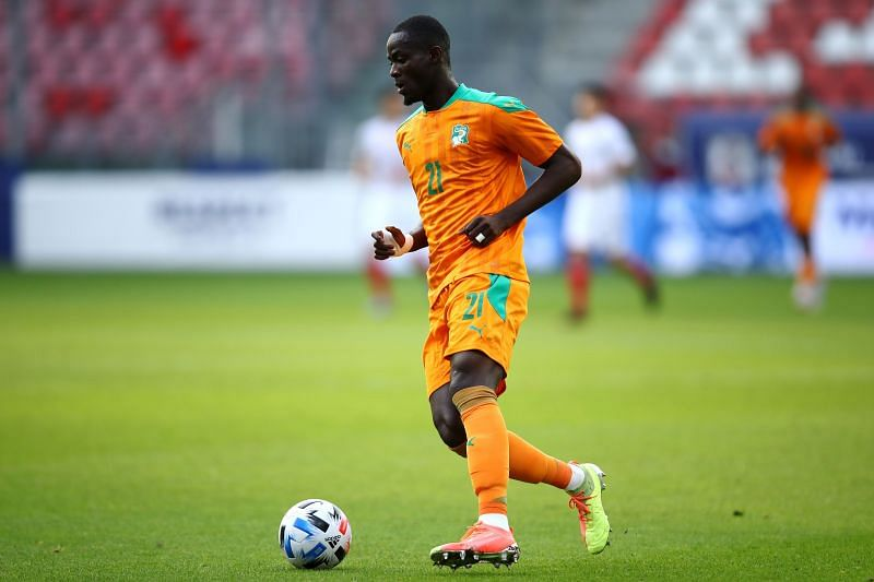 Eric Bailly of Ivory Coast in action