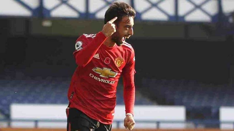 Fernandes scored twice and provided an assist in United