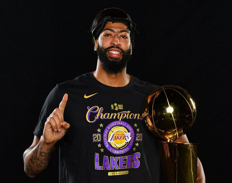 Anthony Davis was essential for the 2020 Lakers NBA championship-winning season.