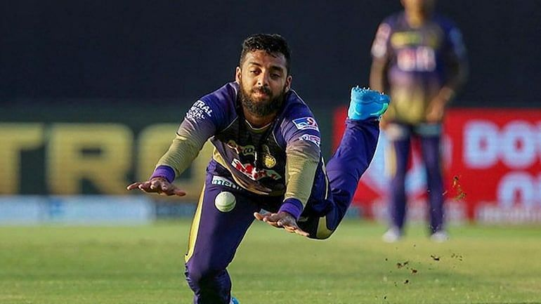 Chakravarthy registered the only 5-for in IPL 2020