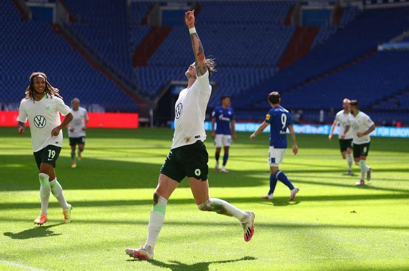 FC Schalke 04 take on VfL Wolfsburg