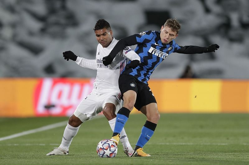 Real Madrid star Casemiro was unavailable for the game after testing positive for COVID-19