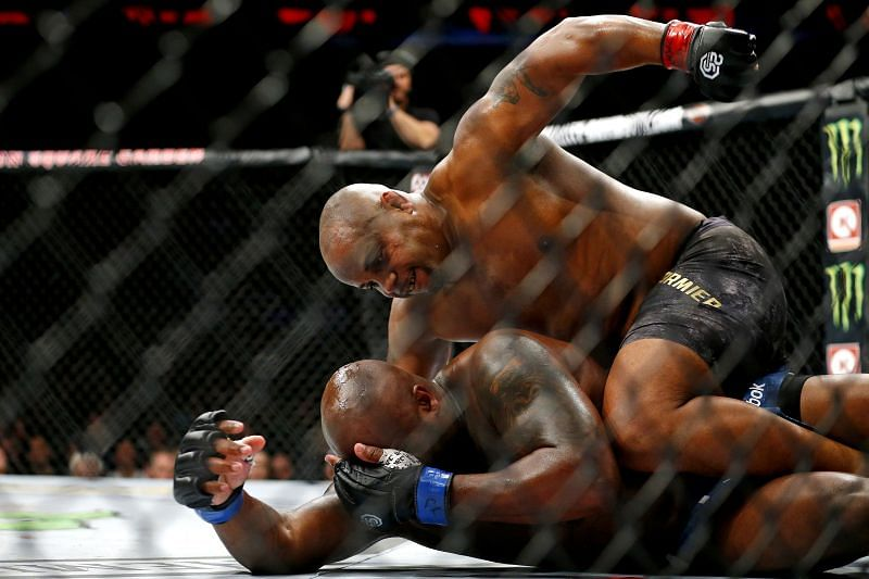 Daniel Cormier submitted Derrick Lewis at UFC 230 two years ago