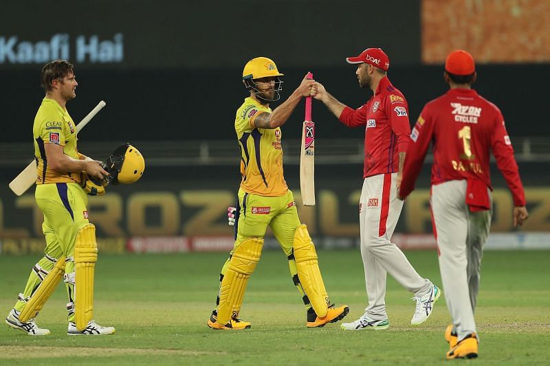 Shane Watson and Faf du Plessis after completing CSK