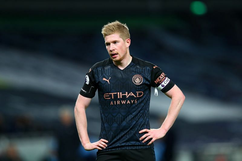 Kevin De Bruyne did not have the best of nights against Tottenham Hotspur.