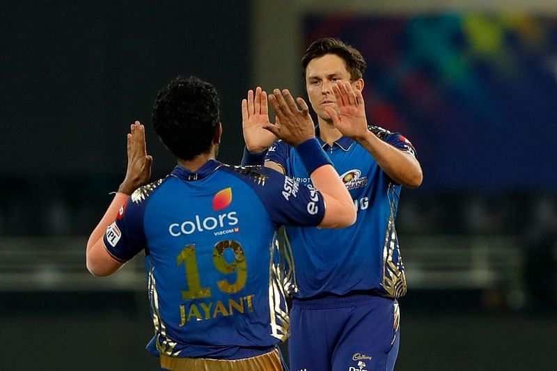 Trent Boult turned up once again to turn things MI