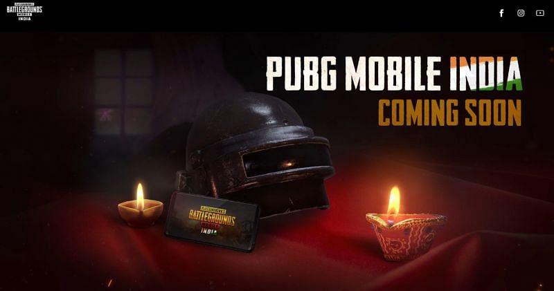 PUBG Mobile India website