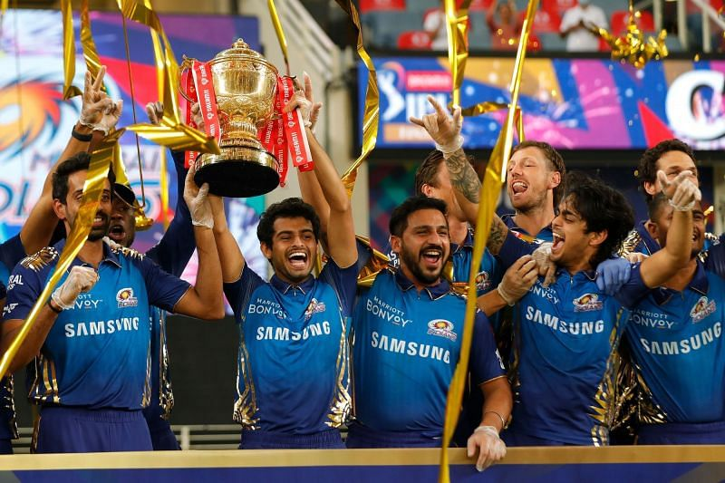 MI beat DC by 5 wickets in the IPL 2020 final on November 10 (Credits: IPLT20.com)