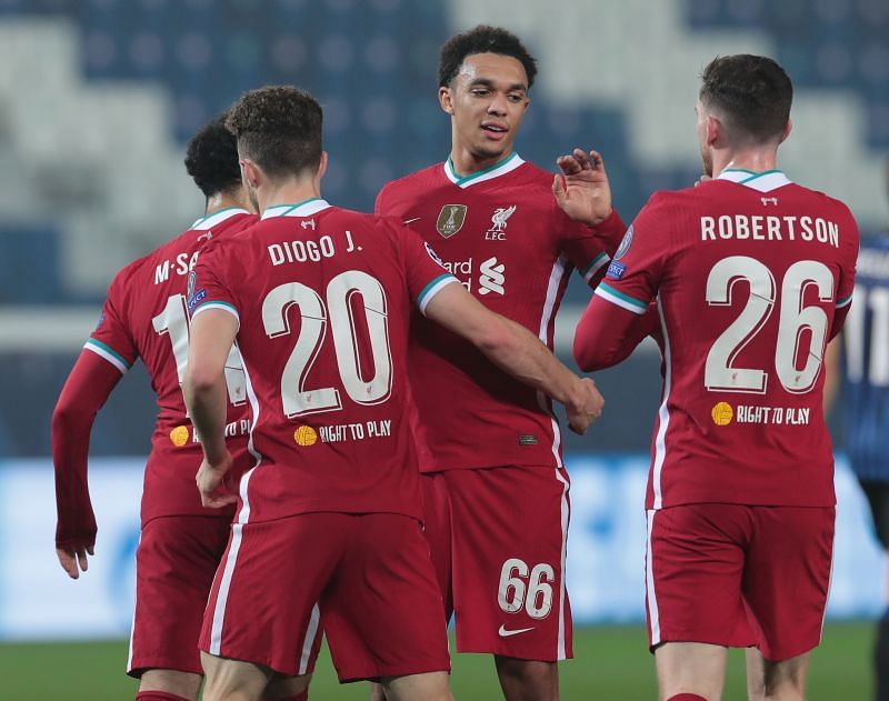 atalanta 0 5 liverpool 5 talking points as diogo jota hat trick propels reds uefa champions league 2020 21 atalanta 0 5 liverpool 5 talking