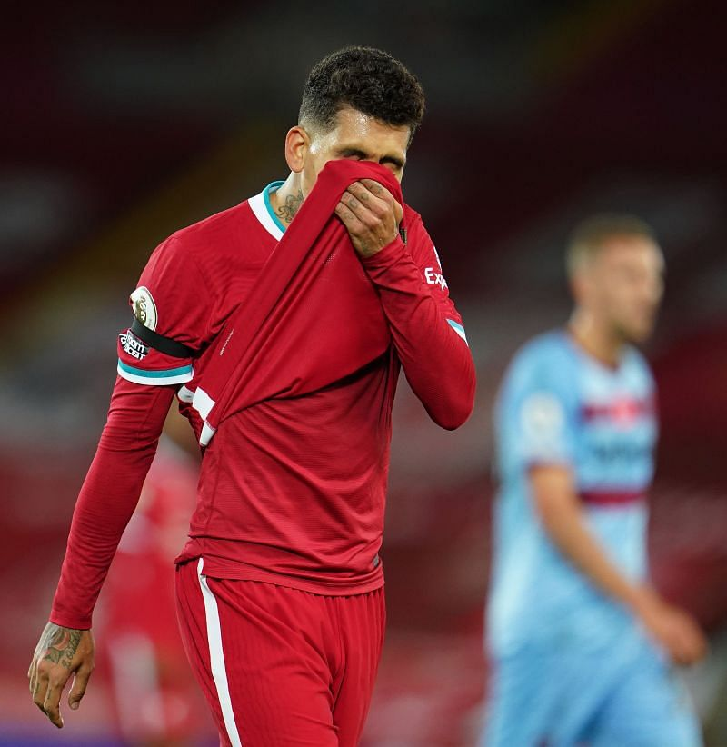 Roberto Firmino has not been in his best form lately despite the faith shown in him by the Reds