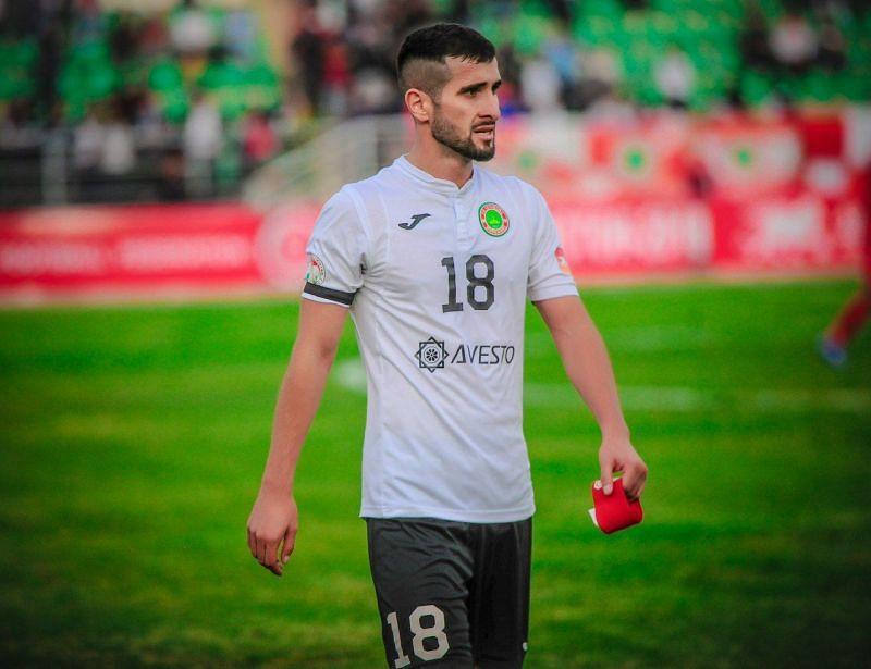 Fatkhullo regularly plays for Tajikistan national team (Image Credits : Twitter)