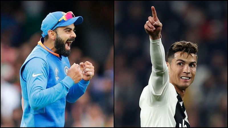 Virat Kohli and Cristiano Ronaldo are highly respected in their respective sports