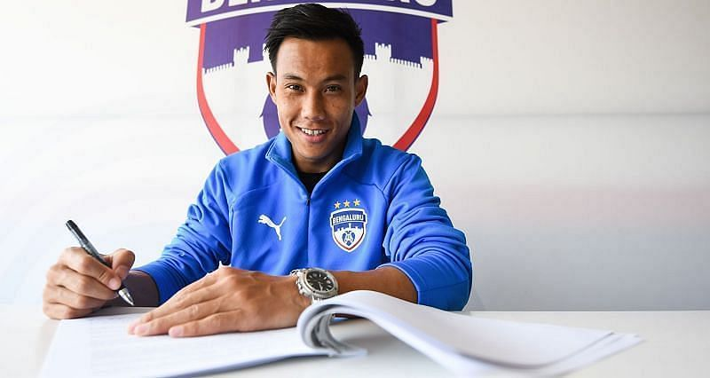 Udanta Singh signed a new three-year deal with Bengaluru FC in the off-season