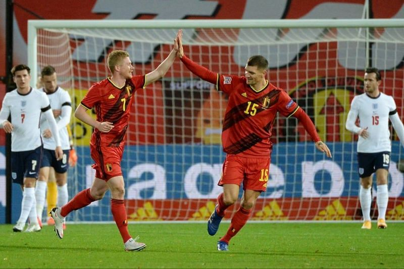 Belgium knock England out of Nations League