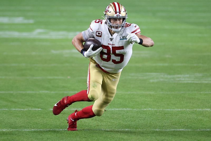San Francisco 49ers tight end George Kittle