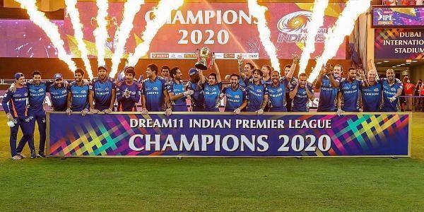 IPL 2020 champions Mumbai Indians