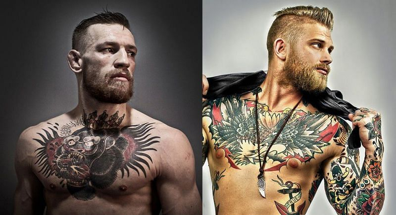 Did Conor McGregor steal his look - and tattoos - from model Josh Mario John?