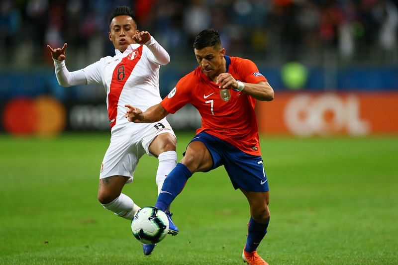 Chile clash with Peru this week in World Cup qualifiers
