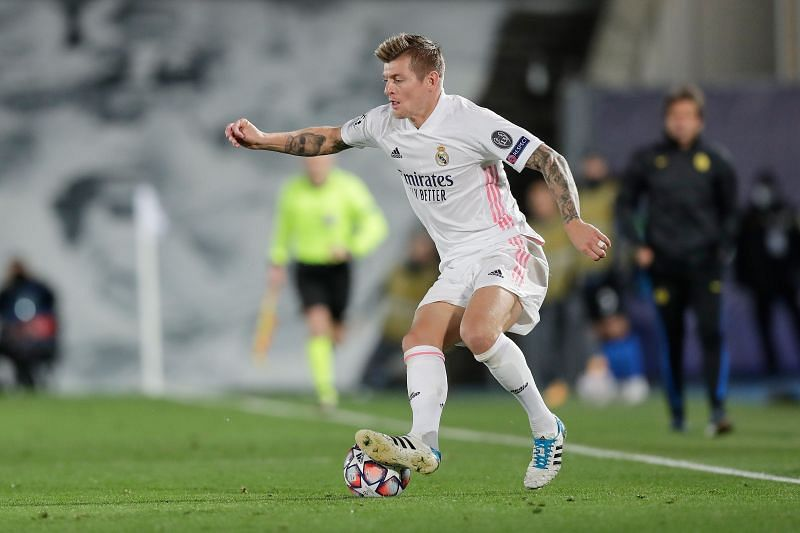 Toni Kroos did not feature in Real Madrid
