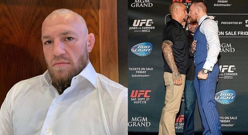 Conor McGregor and Dustin Poirier are no strangers to one another