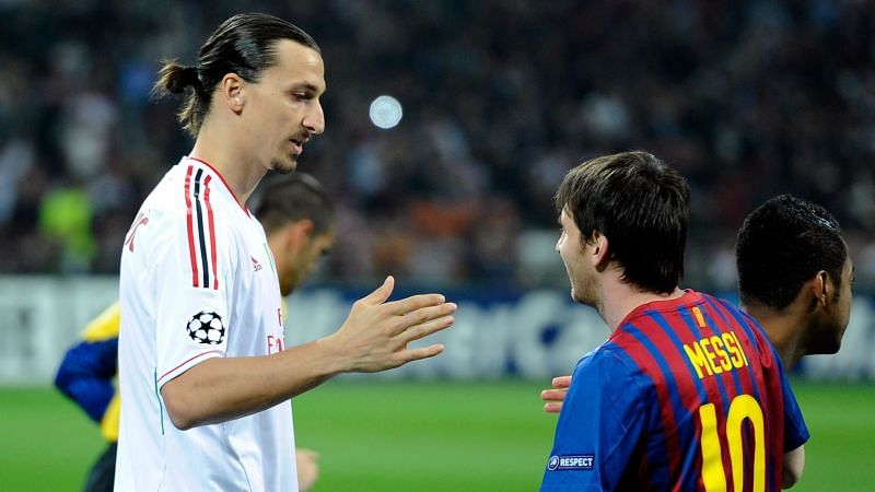 Zlatan Ibrahimovic played with Lionel Messi at Barcelona