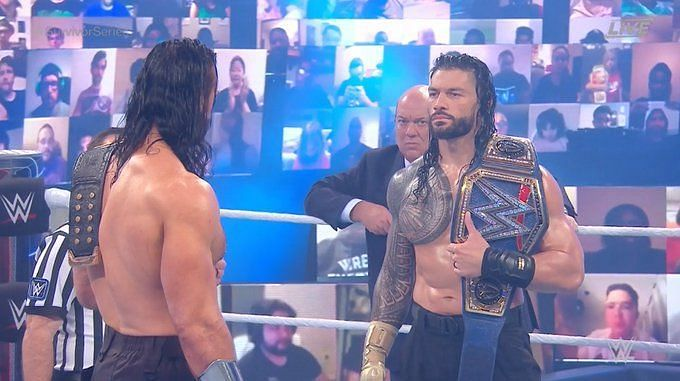 Roman Reigns and Drew McIntyre had a very epic clash
