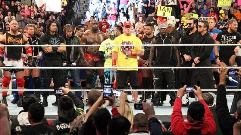 जॉन सीना ने सभी से WWE Raw में माफी मांगी थी
