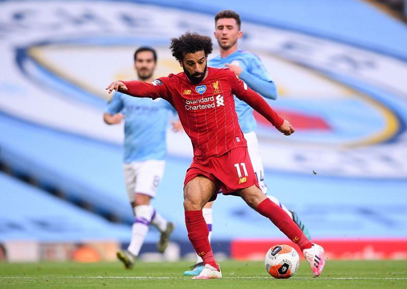 Liverpool FC forward Mohamed Salah
