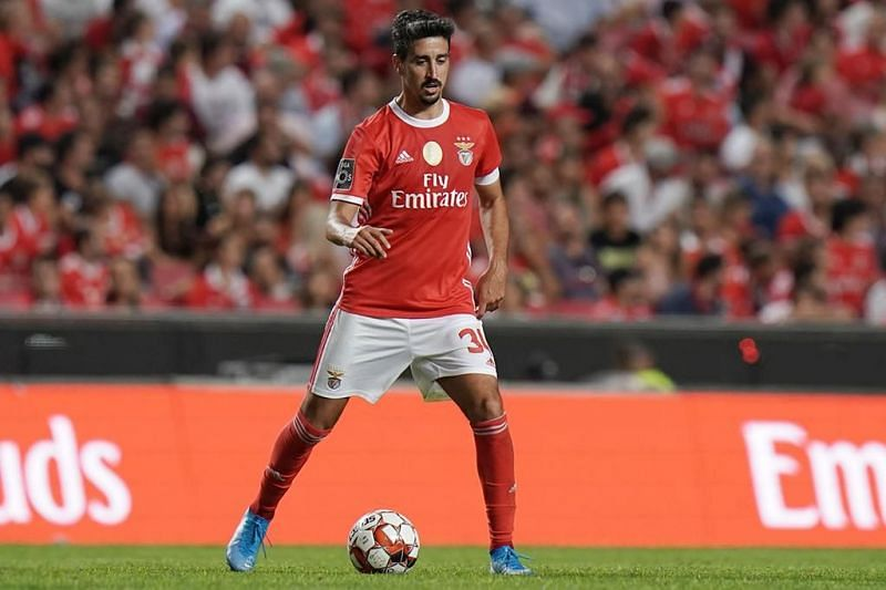 Andre Almeida is one of the three players unavailable for SL Benfica through injury for Sunday