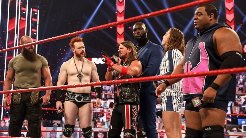 Team RAW has hardly gotten along.