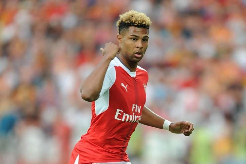 Serge Gnabry blossomed into a world-class winger after leaving Arsenal.